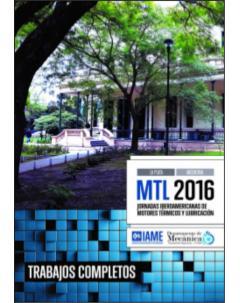 MTL 2016, Jornadas Iberoamericanas de Motores Térmicos y Lubricación