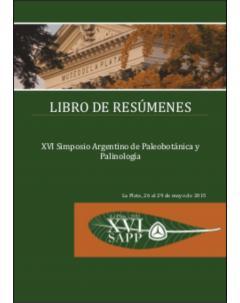 XVI Simposio Argentino de Paleobotánica y Palinología: Libro de resúmenes