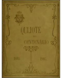 Quijote del Centenario 1605-1905 (texto) - Tomo 1