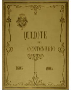 Quijote del Centenario 1605-1905 (texto) - Tomo 2
