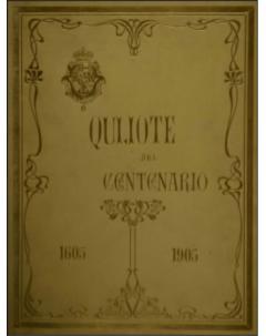 Quijote del Centenario 1605-1905 (láminas) - Tomo 3