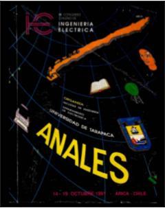Anales del IX Congreso Chileno de Ingeniería Eléctrica