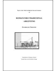 Romancero tradicional argentino
