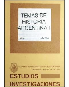 Temas de historia argentina I
