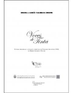 Voces de tinta: Estudio preliminar y antología comentada de Folklore argentino (1905) de Robert Lehmann-Nitsche