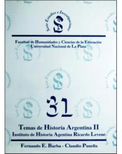 Temas de historia argentina II: Estudios/Investigaciones, 31