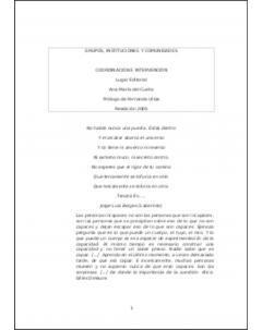Grupos, instituciones y comunidades: Coordinación e intervención