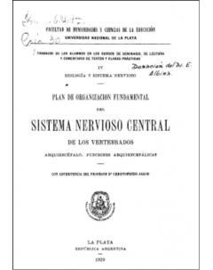 Plan de organización fundamental del sistema nervioso central de los vertebrados: Arquiencéfalo. Funciones arquiencefálicas