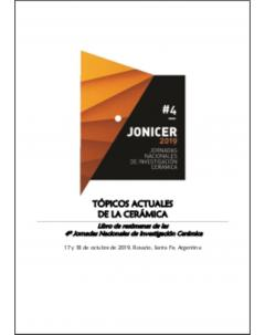 Tópicos actuales de la cerámica: Libro de resúmenes de las 4º Jornadas Nacionales de Investigación Cerámica (JONICER)