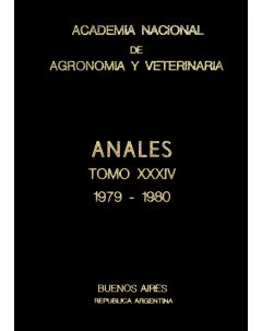 Anales tomo XXXIV 1979-1980