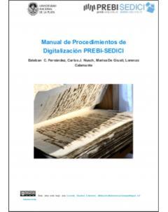 Manual de Procedimientos de Digitalización PREBI-SEDICI