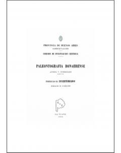 Paleontografía bonaerense: Fascículo III. Invertebrados