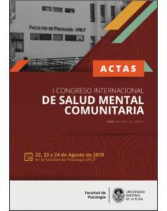 Actas del I Congreso Internacional de Salud Mental Comunitaria