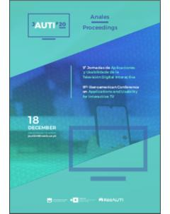 Proceedings of the 9th Iberoamerican Conference on Applications and Usability of Interactive TV - jAUTI 2020