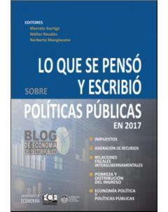 Lo que se pensó y escribió sobre políticas públicas en 2017: Blog de Economía del Sector Público