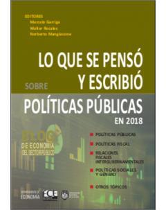 Lo que se pensó y escribió sobre políticas públicas en 2018: Blog de Economía del Sector Público