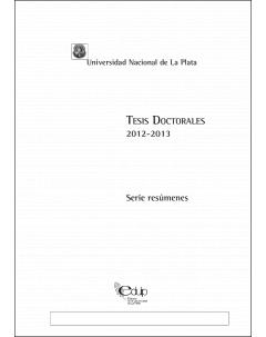Tesis doctorales 2012-2013: Serie resúmenes