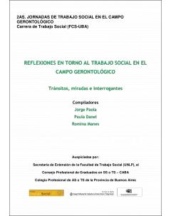 Reflexiones en torno al trabajo social en el campo gerontológico: Tránsitos, miradas e interrogantes