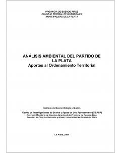 Análisis ambiental del partido de La Plata: Aportes al ordenamiento territorial