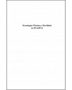 Tecnologías wireless y movilidad en IPv4/IPv6