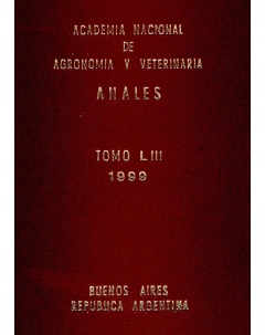 Anales tomo LIII 1999
