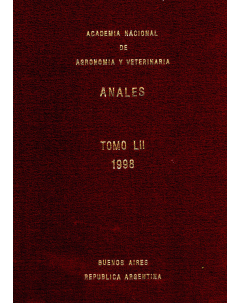Anales tomo LII 1998