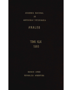 Anales tomo XLIX 1995