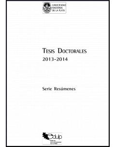 Tesis doctorales 2013-2014: Serie resúmenes