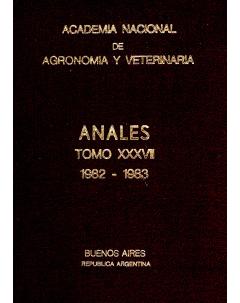 Anales tomo XXXVII 1982-1983