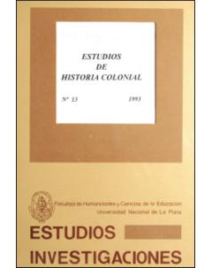 Estudios de historia colonial
