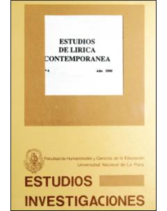 Estudios de lírica contemporánea