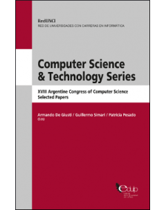 Computer Science & Technology Series: XVIII Argentine Congress of Computer Science. Selected papers
