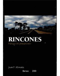 Rincones: Paisajes del pensamiento