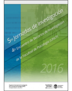 5tas Jornadas de Investigación - 4to Encuentro de Becarios de la Facultad de Psicología (UNLP)
