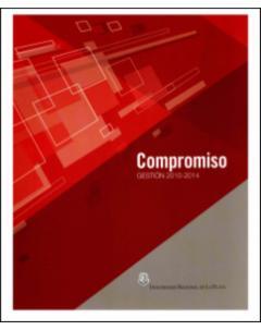 Compromiso: Gestión 2010-2014: Pensar nuestra universidad