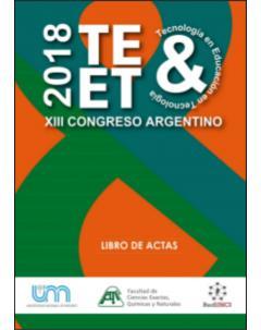 XIII Congreso Nacional de Tecnología en Educación y Educación en Tecnología: Libro de actas