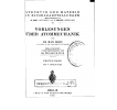 Struktur der Materie in Einzeldarstellungen: II - Vorlesungen über Atommechanik - Ersten band