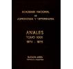 Anales tomo XXIX 1974-1975