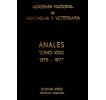 Anales tomo XXXI 1976-1977