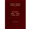 Anales tomo XXXIII 1978-1979