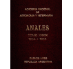 Anales tomo XXXIX 1984-1985