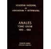 Anales tomo XXXVIII 1983 -1984