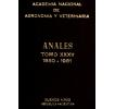 Anales tomo XXXV 1980-1981