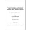 El ordenamiento jurídico de la República Popular China en el marco del Derecho Internacional: planificación familiar, migraciones y cooperación