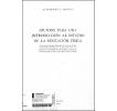 Apuntes para una introducción al estudio de la Educación Física