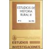 Estudios de Historia Rural III