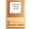 Estudios de Historia Rural IV