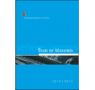 Tesis de maestría 2014-2015: Serie resúmenes